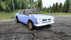 Nissan Skyline 2000GT-R Coupe (KPGC10) 1970 for MudRunner