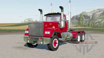 Mack Super-Liner Day Caƀ for Farming Simulator 2017
