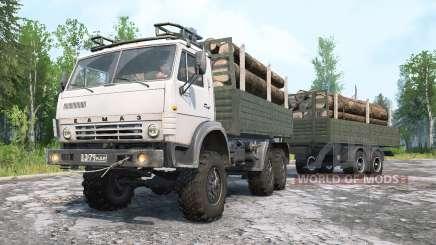 KamAZ-4ვ10 for MudRunner