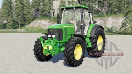 John Deere 6020-serieᶊ for Farming Simulator 2017