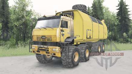 KamAZ-6560 Polar v1.1 for Spin Tires