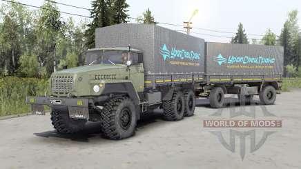 Ural-43Զ0-10 for Spin Tires