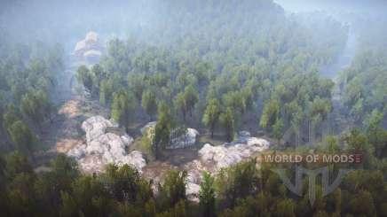 Logging Road v2.0 for MudRunner