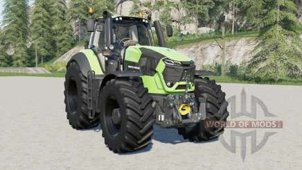 Deutz-Fahr 9 series TTV Agrotroꞥ for Farming Simulator 2017