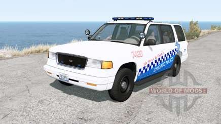 Gavril Roamer Chicago Police v1.31 for BeamNG Drive