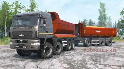 MAZ-6516В9 for MudRunner
