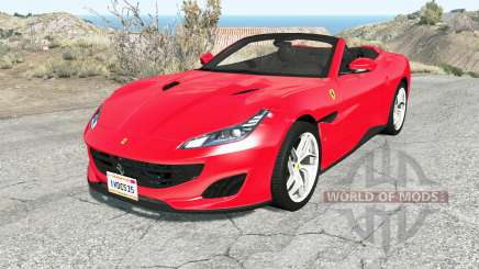Ferrari Portofino 2018 for BeamNG Drive