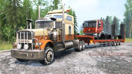 Kenworth W900 v2.0 for MudRunner