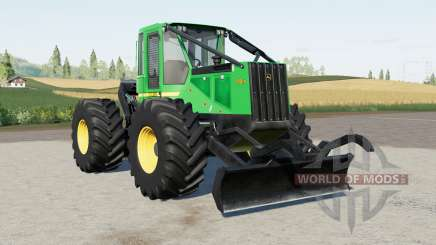 John Deere 540G-III for Farming Simulator 2017
