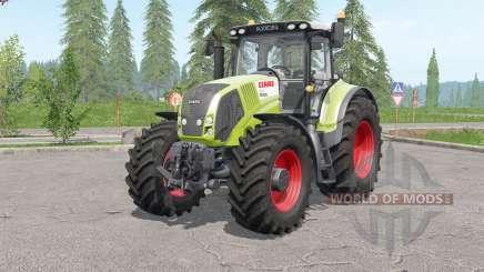 Claas Axioᶇ 800 for Farming Simulator 2017