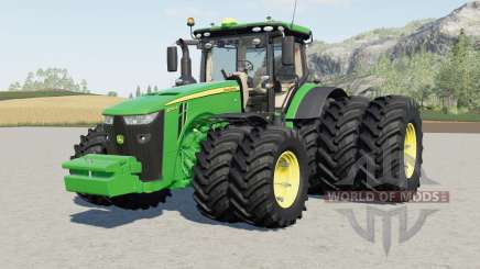 John Deere 8R-series EU for Farming Simulator 2017