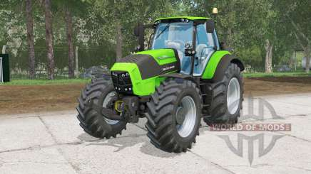 Deutz-Fahr 7250 TTV Agrotrꝋn for Farming Simulator 2015