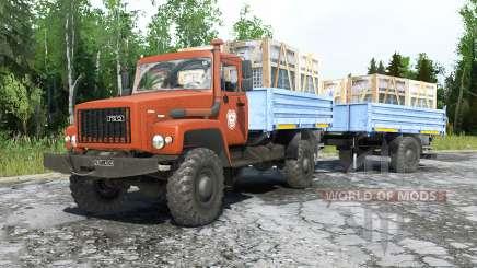 GAZ-3308 Sadko for MudRunner