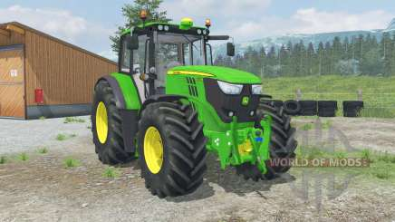 John Deere 6170M for Farming Simulator 2013