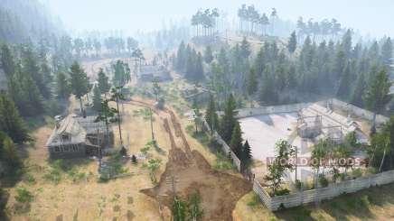 Mountain timber for MudRunner