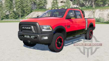 Ram 2500 Power Wagon Crew Cab 2017 for Farming Simulator 2017
