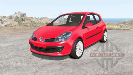 Renault Clio 3-door 2006 for BeamNG Drive