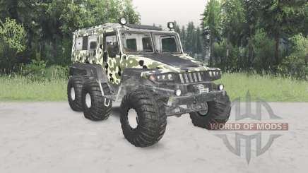 Trekol VEGA camouflage paint for Spin Tires