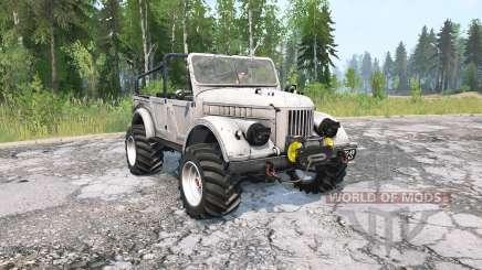 GAZ-69A for MudRunner