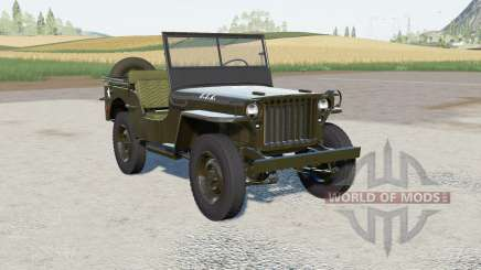 Willys MB 1945 for Farming Simulator 2017