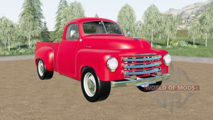 Studebaker 2R5 pickup 1950 for Farming Simulator 2017