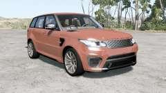 Range Rover Sport SVR 2015 for BeamNG Drive