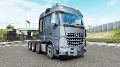 Mercedes-Benz Arocs 4163 SLT 2014 v1.6.3 for Euro Truck Simulator 2