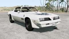 Pontiac Firebird Trans Aᵯ 1977 for BeamNG Drive