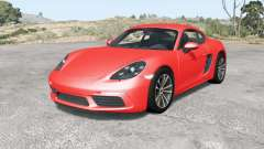 Porsche 718 Cayman (982C) 2016 v3.0 for BeamNG Drive