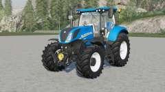 New Holland T7-seriᶒs for Farming Simulator 2017