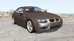 BMW M3 coupe (E92) 2007 for BeamNG Drive