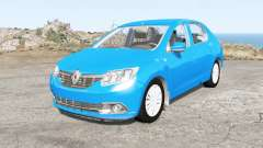 Renault Logan 2014 for BeamNG Drive
