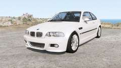 BMW M3 coupe (E46) 2001 for BeamNG Drive
