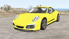 Porsche 911 Carrera T coupe (991) 2018 for BeamNG Drive