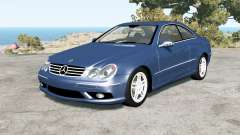 Mercedes-Benz CLK 55 AMG (C209) 2005 for BeamNG Drive