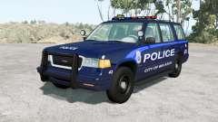 Gavril Roamer Belasco Police v1.2 for BeamNG Drive