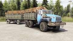 Ural-4320-10 ⱱ2.0 for Spin Tires