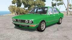 BMW 528i sedan (E12) 1977 v1.18 for BeamNG Drive