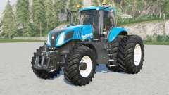 New Holland T8-series v1.0.2 for Farming Simulator 2017