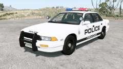 Gavril Grand Marshall Firwood Police v1.2 for BeamNG Drive
