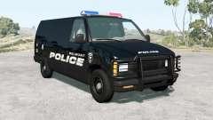 Gavril H-Series Belmont Police v1.1 for BeamNG Drive