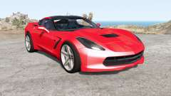 Chevrolet Corvette Stingray coupe (C7) 2013 for BeamNG Drive