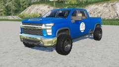Chevrolet Silverado 2500 HD Crew Cab SpencerTV for Farming Simulator 2017