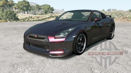 Nissan GT-R Spec V (R35) 2009 for BeamNG Drive