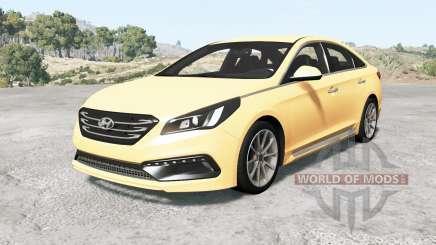 Hyundai Sonata Sport (LF) 2015 v1.1 for BeamNG Drive