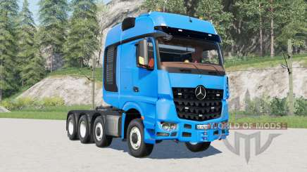 Mercedes-Benz Arocs SLT for Farming Simulator 2017