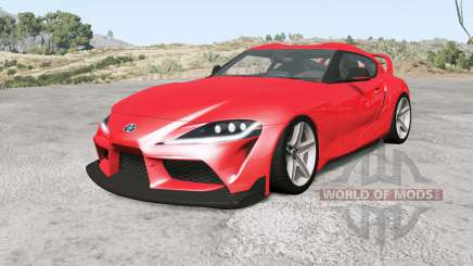 Toyota GR Supra Heritage Edition (A90) 2019 for BeamNG Drive