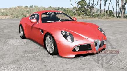 Alfa Romeo 8C Competizione for BeamNG Drive