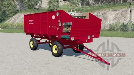 KTU-10 v2.0 for Farming Simulator 2017