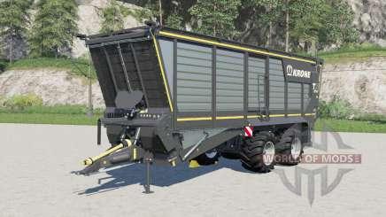 Krone TX 460 Ɒ for Farming Simulator 2017
